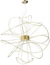 Подвесной светильник AXO Light Hoops SPHOOPS6ORORLED Oro, Gold Oro, Gold LED 3000K